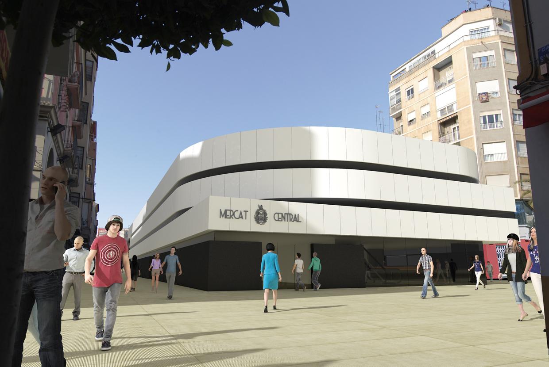 Mercado central Elche Fernando Gracía Arquitecto