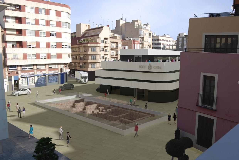 Mercado central Elche Fernando Gracía Arquitecto 2