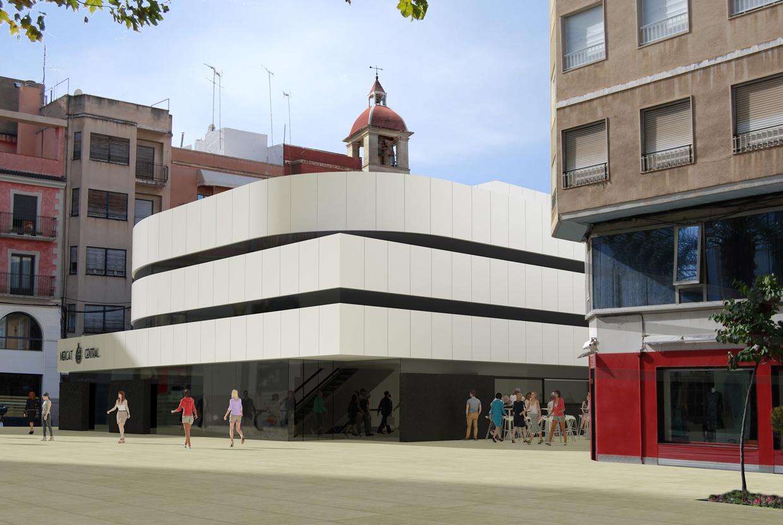 Mercado central Elche Fernando Gracía Arquitecto 7